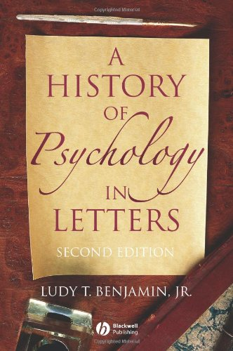 History of Psychology in Letters  2nd 2007 (Revised) edition cover