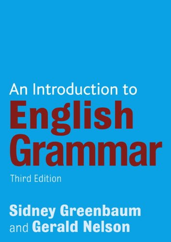 Introduction to English Grammar  3rd 2008 (Revised) edition cover