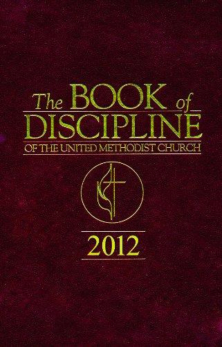 Book of Discipline, United Methodist Church 2012:   2013 edition cover