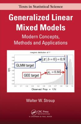 Generalized Linear Mixed Models Modern Concepts, Methods and Applications  2012 edition cover