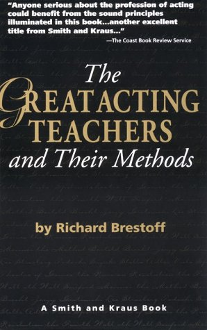 Great Acting Teachers and Their Methods  1995 edition cover