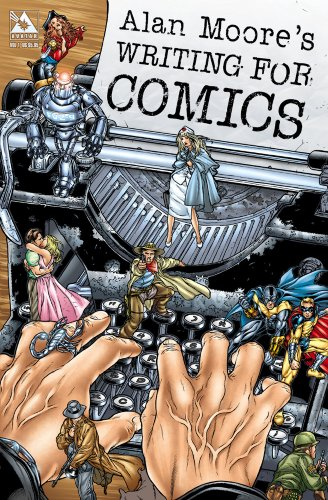 Alan Moore's Writing for Comics   2012 edition cover