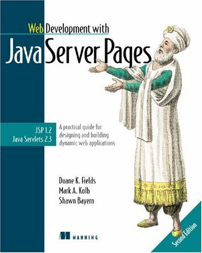 Web Development with JavaServer Pages  2nd 2002 (Revised) edition cover