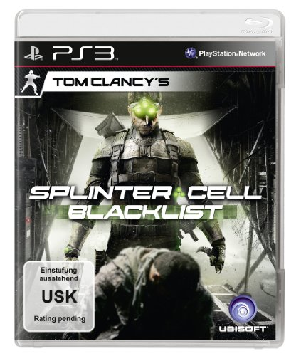 Splinter Cell: Blacklist PlayStation 3 artwork