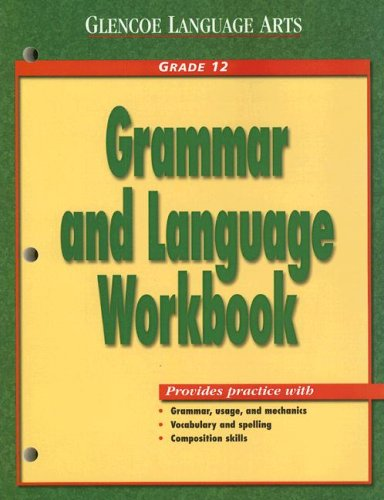Grammar and Language Workbook Grade 12  2000 (Workbook) 9780028183121 Front Cover