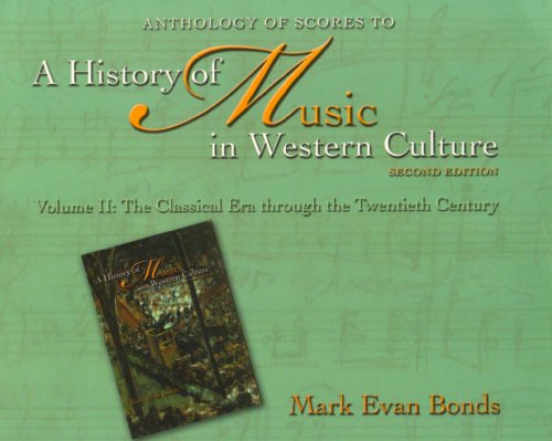 History of Music etc Anthology 2nd 2006 edition cover