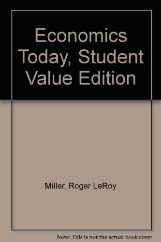Economics Today, Student Value Edition  17th 2014 edition cover