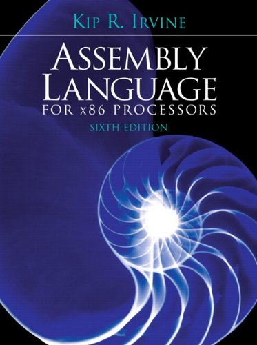 Assembly Language for X86 Processors  6th 2011 9780136022121 Front Cover