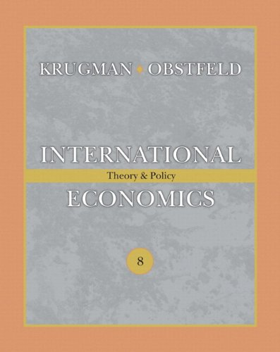 International Economics  8th 2009 9780138002121 Front Cover
