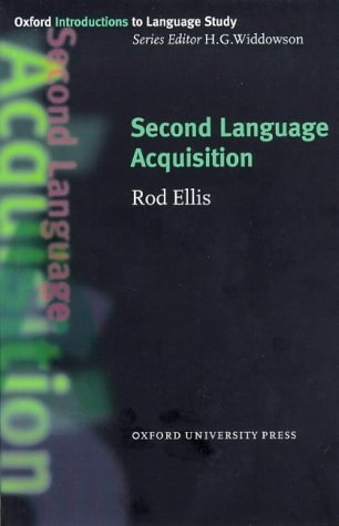 Second Language Acquisition   1997 9780194372121 Front Cover