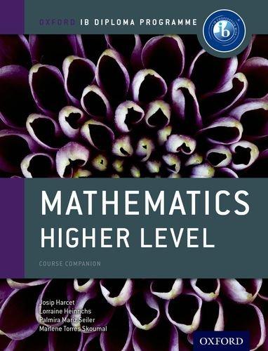 Mathematics Higher Level   2012 edition cover
