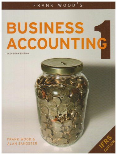 Frank Wood's Business Accounting  11th 2008 9780273712121 Front Cover