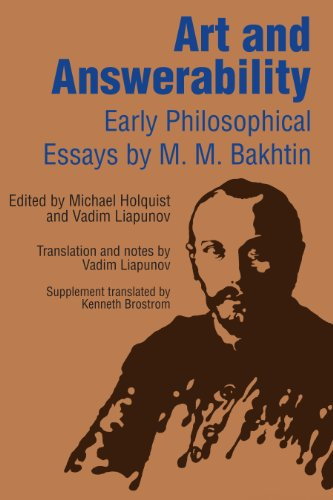 Art and Answerability Early Philosophical Essays  1990 edition cover