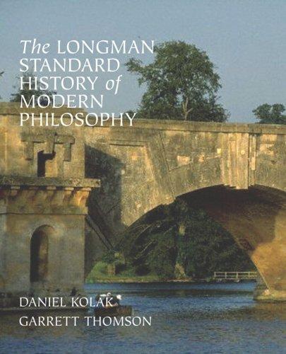 Longman Standard History of Modern Philosophy   2006 edition cover
