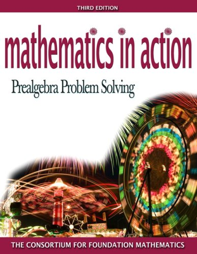 Mathematics in Action Prealgebra Problem Solving 2nd 2008 edition cover