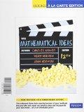 Mathematical Ideas  12th 2012 edition cover