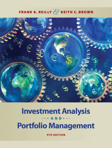 Investment Analysis and Portfolio Management  9th 2009 edition cover