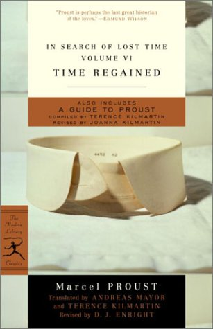 In Search of Lost Time Time Regained  1999 edition cover