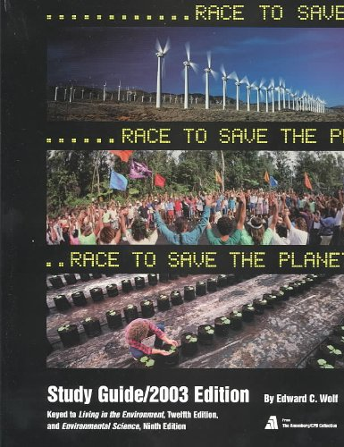 Race to Save Planet 2003   2003 (Guide (Pupil's)) 9780534396121 Front Cover