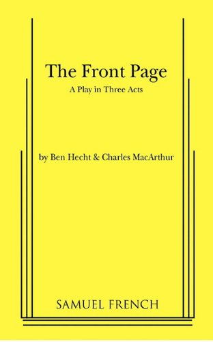 Front Page   1998 edition cover