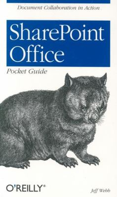 SharePoint Office Pocket Guide   2005 9780596101121 Front Cover