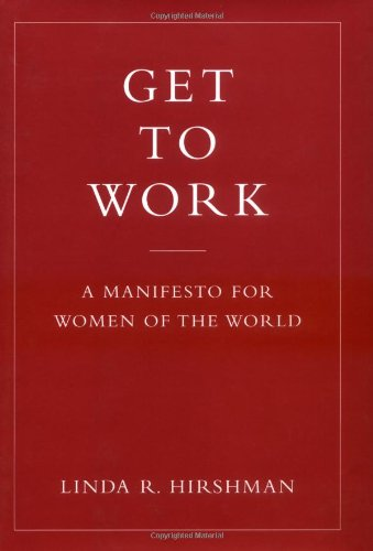 Get to Work A Manifesto for Women of the World  2006 edition cover