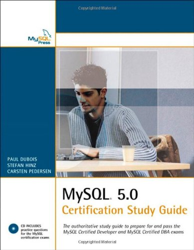 MySQL 5. 0 Certification Study Guide  2nd 2006 9780672328121 Front Cover