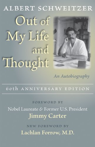 Out of My Life and Thought An Autobiography 60th 2009 (Anniversary) edition cover