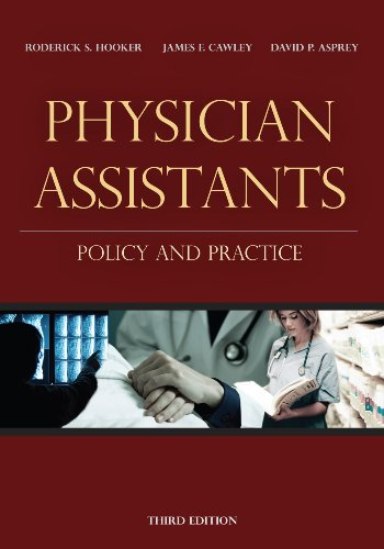 Physician Assistants Policy and Practice 3rd 2010 (Revised) edition cover