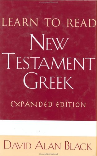 Learn to Read New Testament Greek  Expurgated  9780805416121 Front Cover