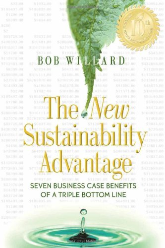 New Sustainability Advantage Seven Business Case Benefits of a Triple Bottom Line 10th 2012 edition cover