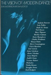 Vision of Modern Dance   1979 edition cover