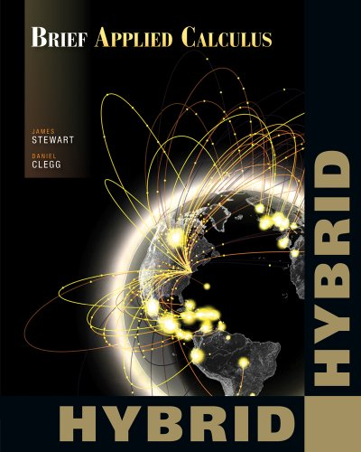 Brief Applied Calculus, Hybrid   2012 edition cover