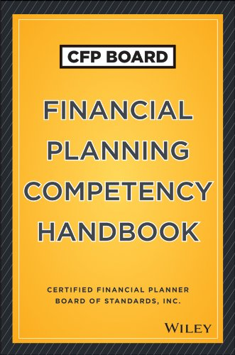 CFP Board Financial Planning Competency Handbook   2013 edition cover