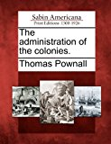 The Administration of the Colonies.  0 edition cover