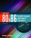 Introduction to 80x86 Assembly Language and Computer Architecture  3rd 2015 edition cover