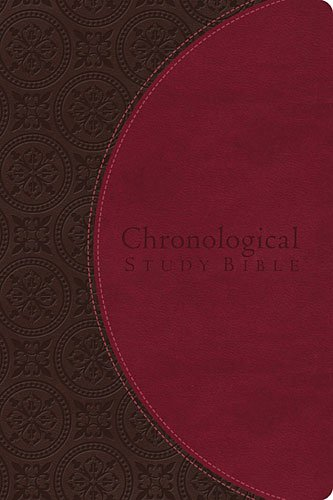 Chronological Study Bible   2014 9781401680121 Front Cover