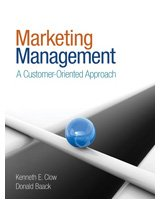 Marketing Management A Customer-Oriented Approach  2010 edition cover
