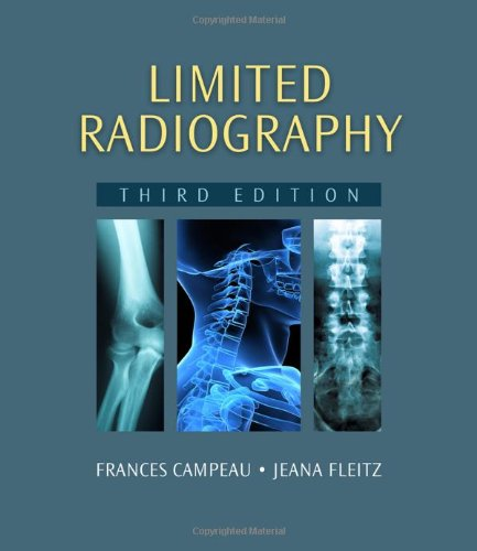 Limited Radiography  3rd 2010 edition cover