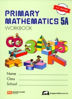 Primary Mathematics 5a  N/A edition cover