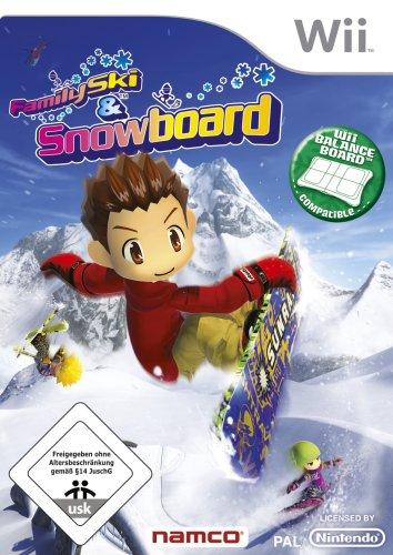 Family Ski & Snowboard Nintendo Wii artwork