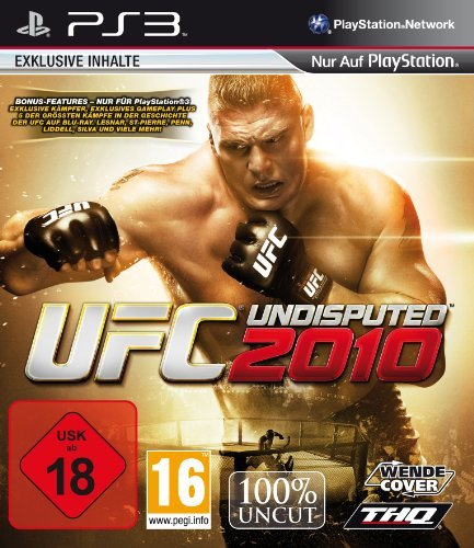 UFC Undisputed 2010 PlayStation 3 artwork