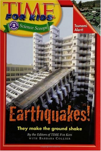 Earthquakes!   2006 9780060782122 Front Cover