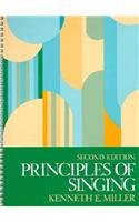 Principles of Singing A Textbook for Voice Class or Studio 2nd 1990 edition cover