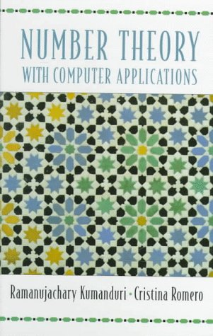 Number Theory with Computer Applications   1998 edition cover