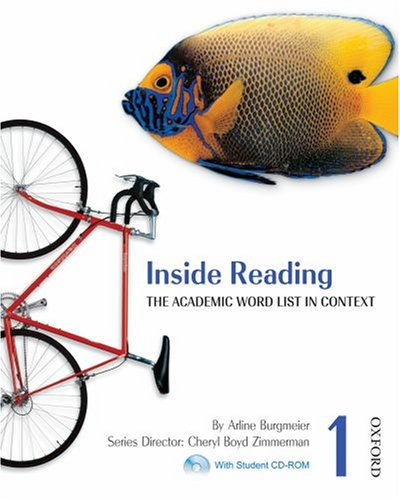 Inside Reading - The Academic Word List in Context   2007 (Student Manual, Study Guide, etc.) edition cover