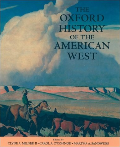 Oxford History of the American West   1996 (Reprint) edition cover