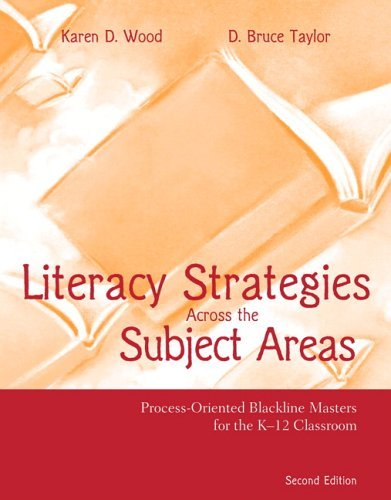 Literacy Strategies Across the Subject Areas Process-Oriented Blackline Masters 2nd 2006 (Revised) edition cover