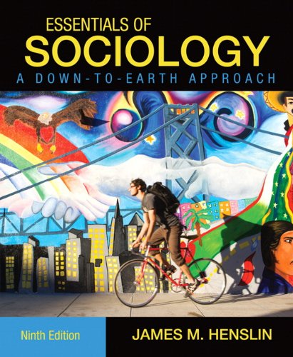 Essentials of Sociology A Down-to-Earth Approach 9th 2011 edition cover