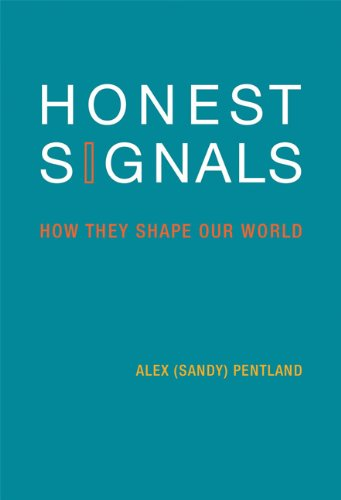 Honest Signals How They Shape Our World  2010 edition cover